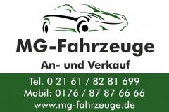 MG-Fahrzeuge